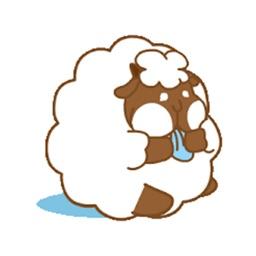 悠閒的羊胖