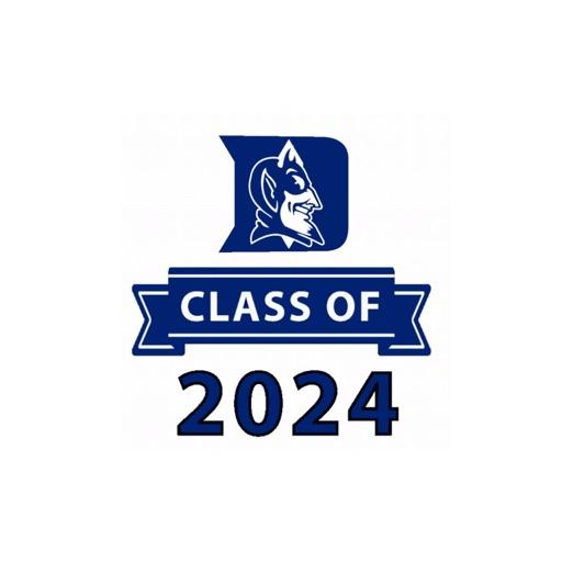 Duke Class of 2024 Stickers