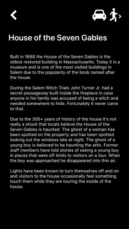 Salem Ghost Map