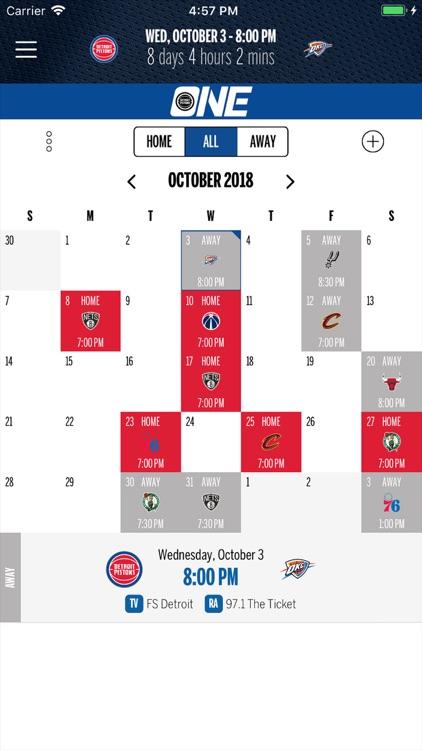Detroit Pistons screenshot-5