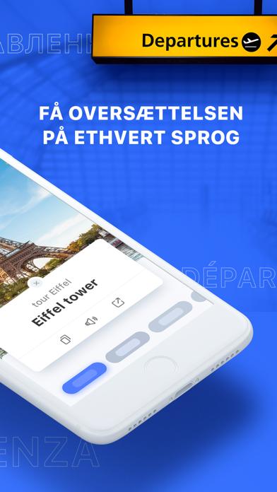 Screenshot for Triplens: Fotooversætter in Denmark App Store