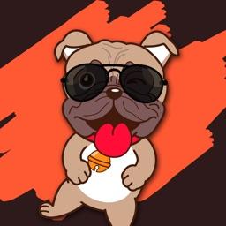Bulldog Emoji Cutest Stickers
