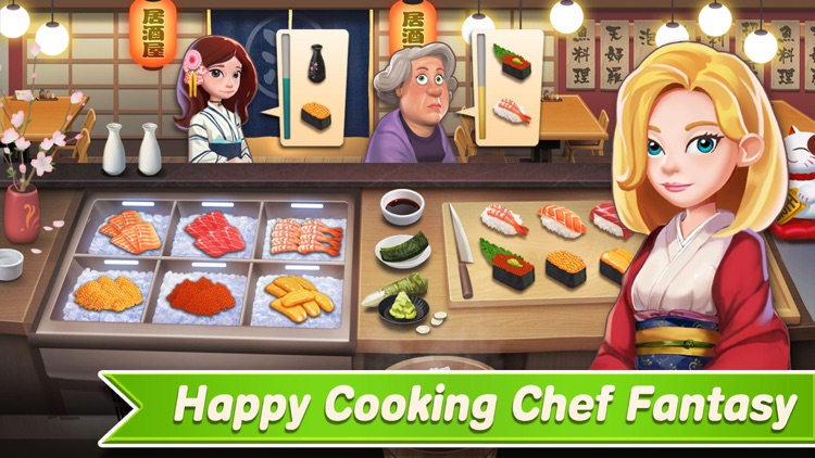 Happy Cooking: Cooking Games