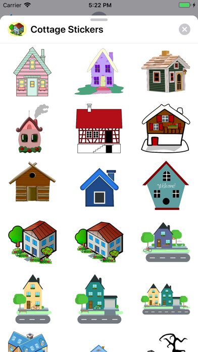 Cottage Stickers screenshot one