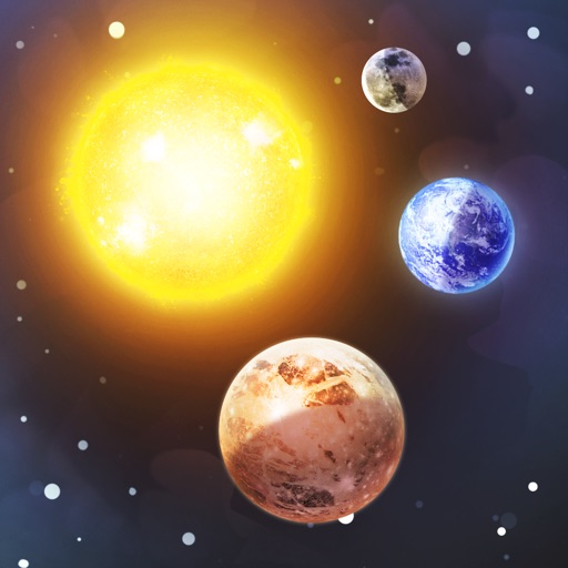 3D Solar System - Planets View