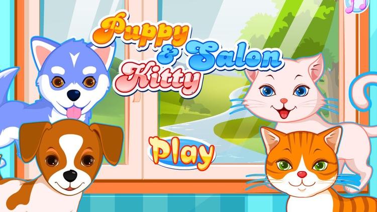 Puppy games & kitty game salon screenshot-9