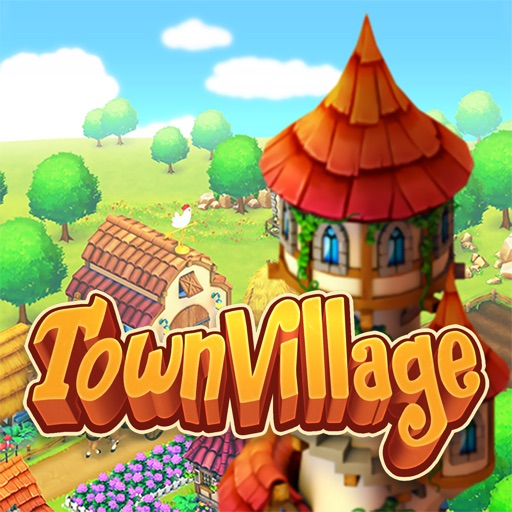 Town Village: Farm Build Trade Icon