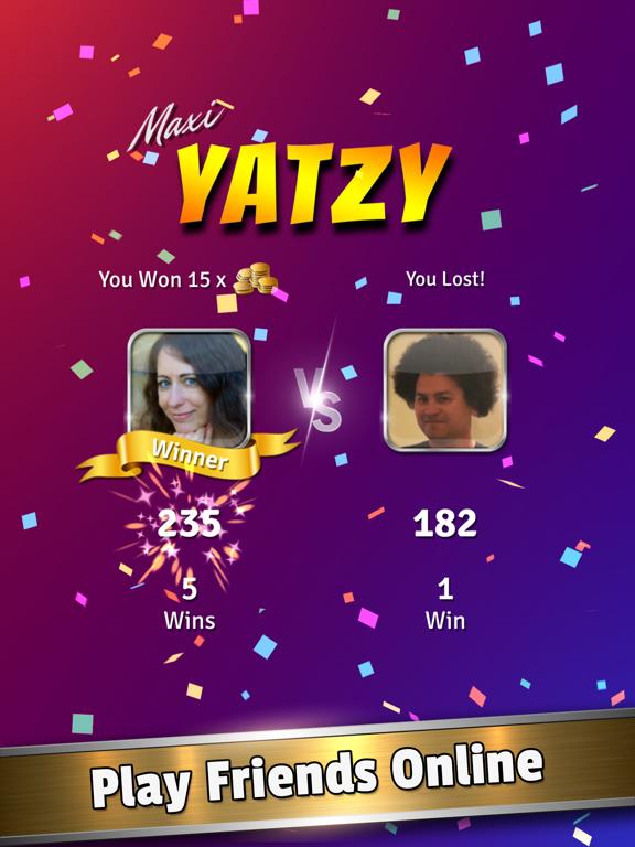 Ipad Screen Shot Yatzy Dice Master 0
