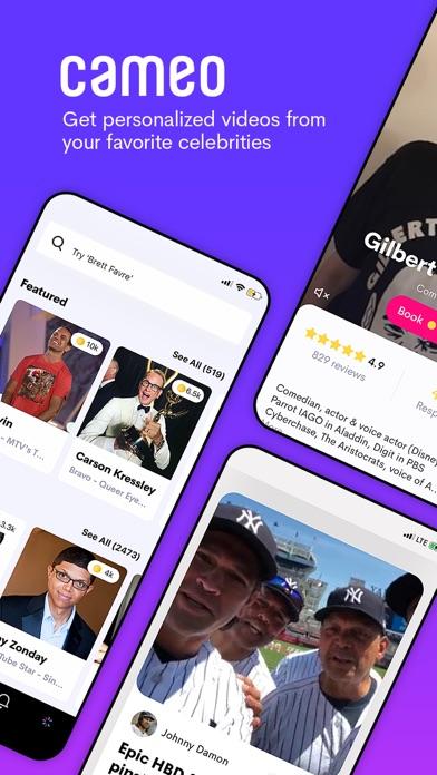 Cameo - Personalized Shoutouts Screenshot