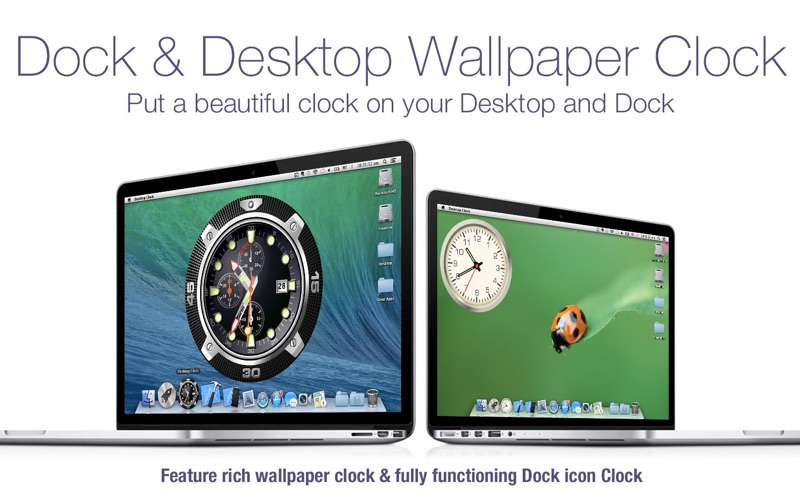 Desktop Clock + Screenshots