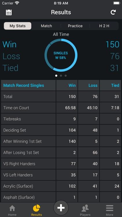 Smashpoint Tennis Tracker screenshot-7