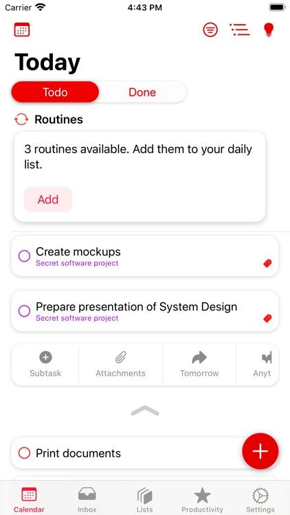 Planny 4 - Smart To Do List