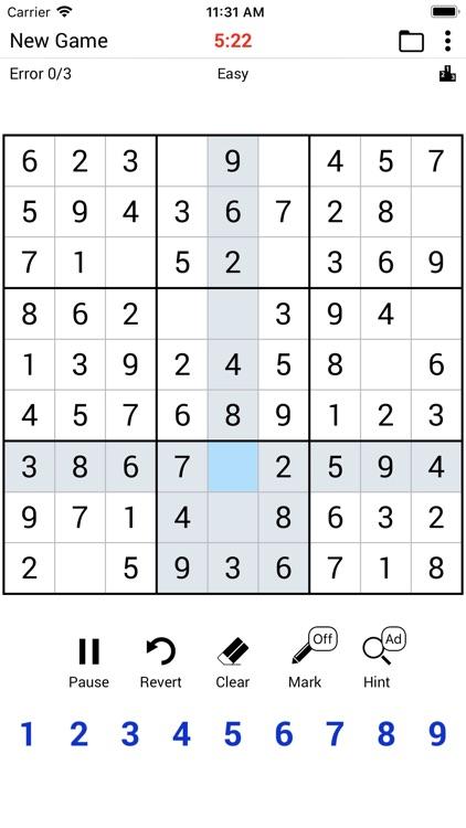 Sudoku Classic. screenshot-0