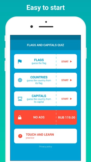 Flags and Capitals Quiz Game on the App Store