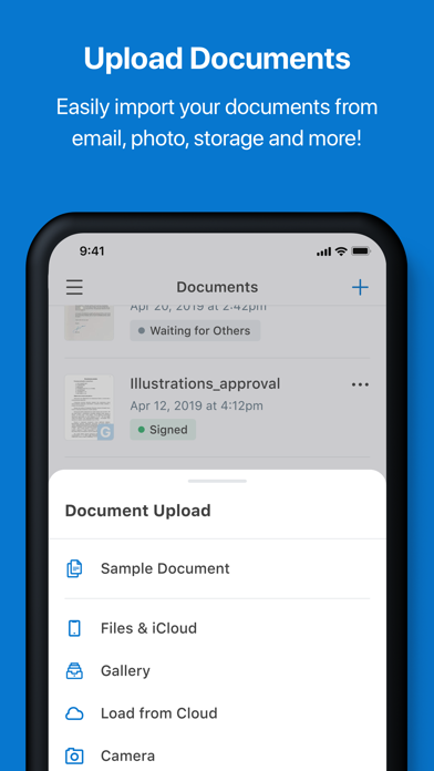 signNow: pdf document signer Screenshot