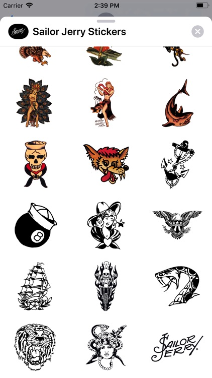 Sailor Jerry Stickers screenshot-3