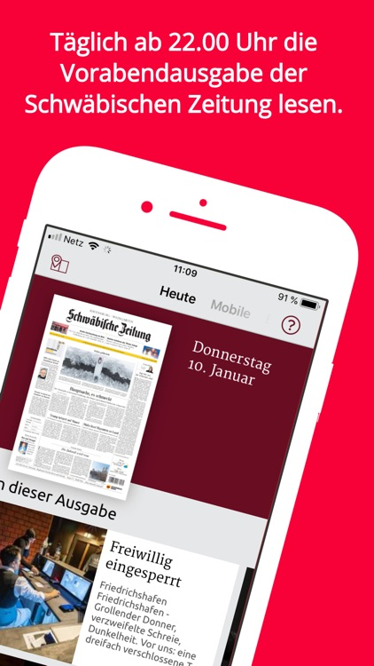 Schwäbische E-Paper App