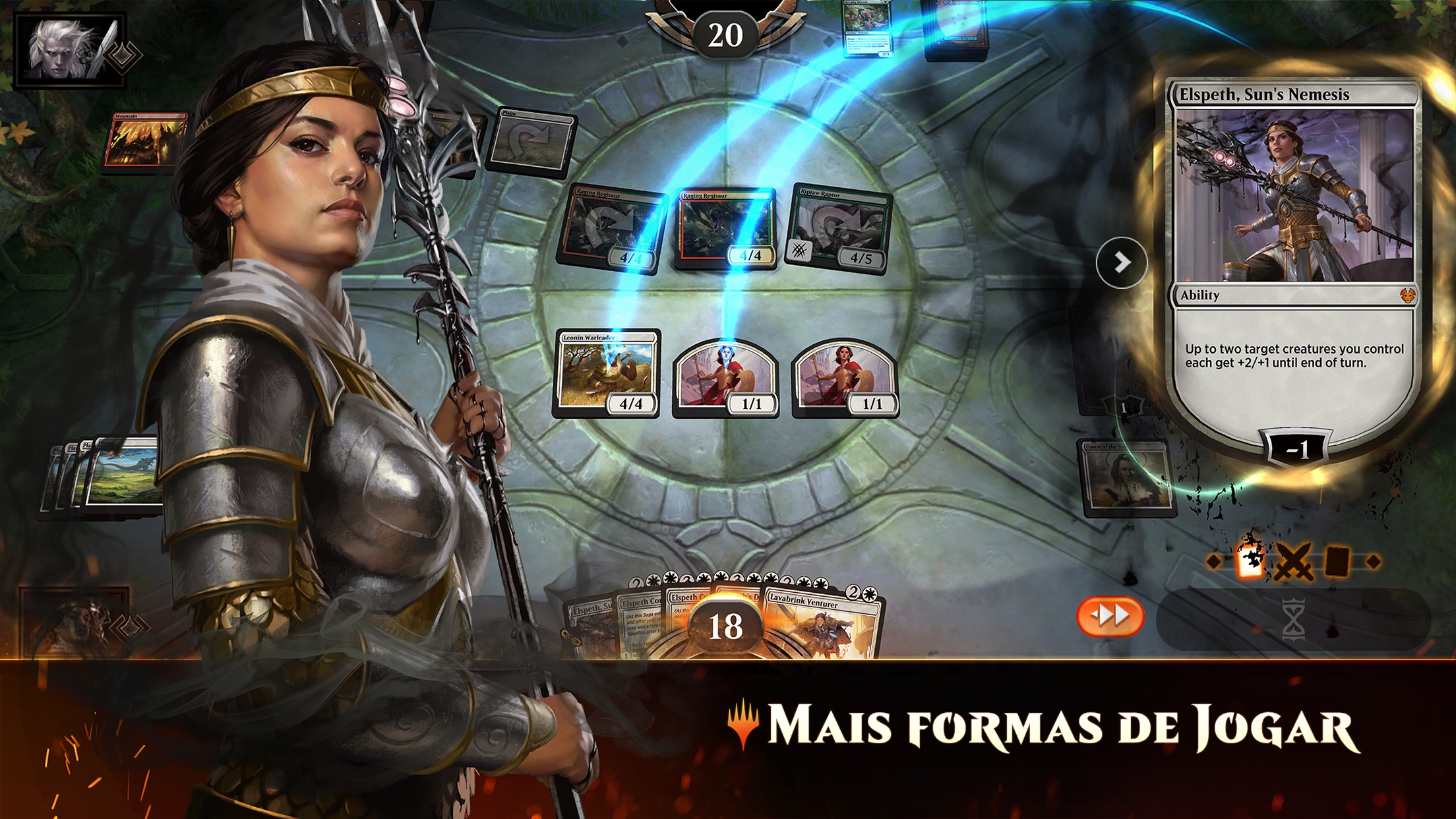 Screenshot do app Magic: The Gathering Arena