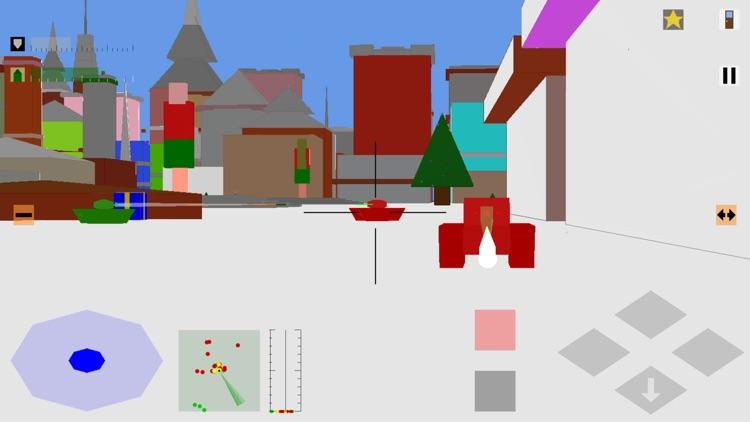Retro Flight: 3D battle sim screenshot-5