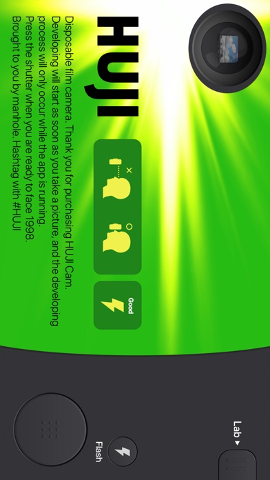 Screenshot for Huji Cam in South Africa App Store