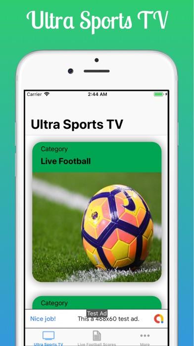Ultra Sports TV screenshot #2