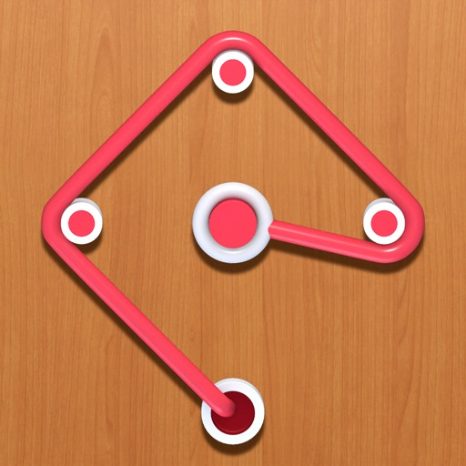 Rope Puzzle: Link Same Color