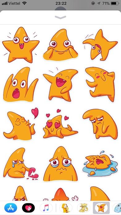 Star Cute Pun Funny Stickers screenshot 1