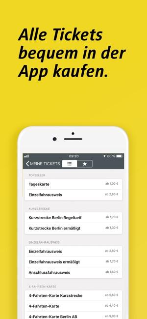 Bvg Fahrinfo Plus Berlin Im App Store