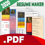 Resume Maker - Export by PDF icon