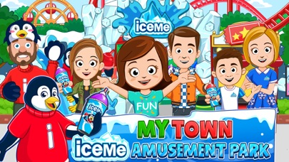 Screenshot for My Town : ICEME Amusement Park in United States App Store
