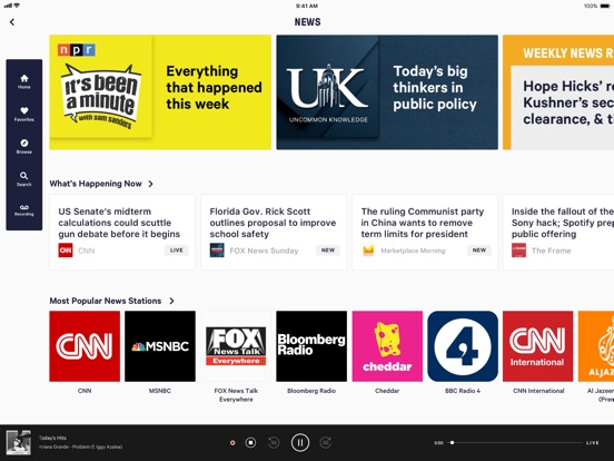 Screenshot #4 for TuneIn Pro - Radio & Sports
