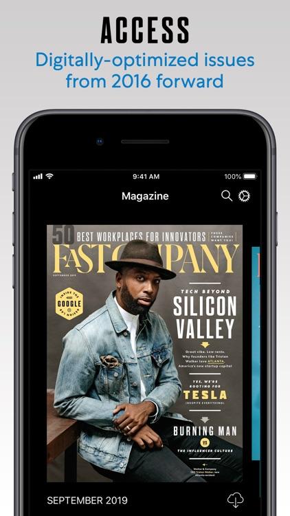 Fast Company Magazine App screenshot-3