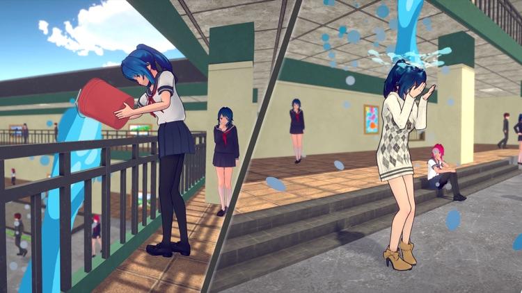 Anime High School Girl Life 3D