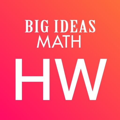 Big Ideas Math Homework App