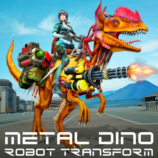 Metal Dino Robot Transform