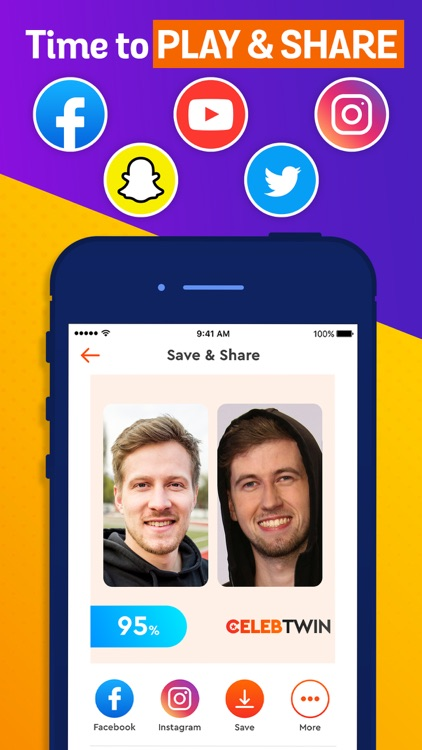Celeb Twin - Who you look like by Vulcan Labs Company Limited