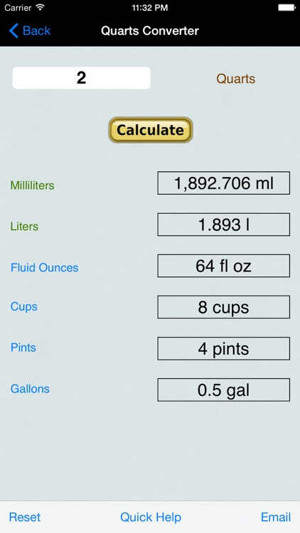 Volume & Weight Converter Calc screenshot-3