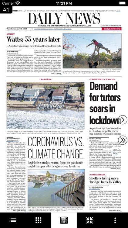 LA Daily News e-Edition