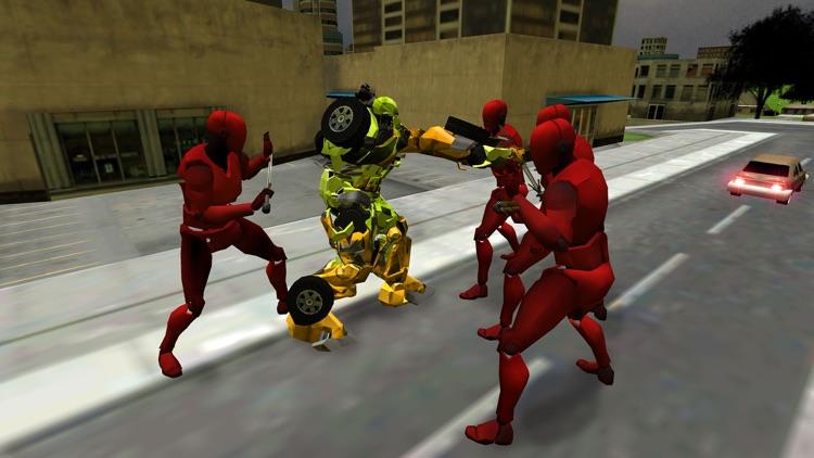 Army Robot Transform War 3D screenshot-3