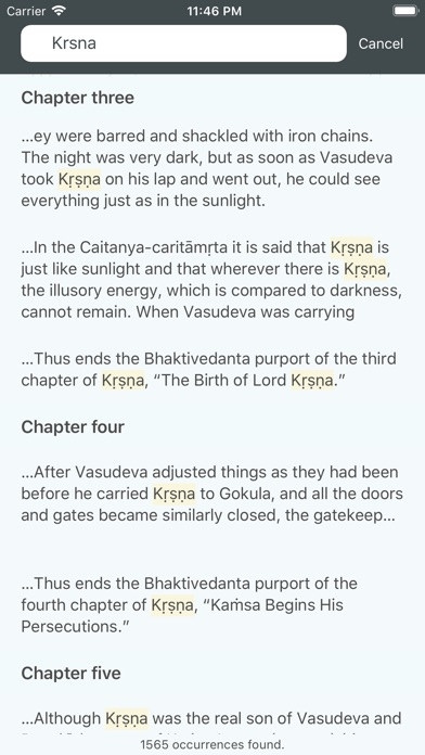 Screenshot for Kṛṣṇa in Singapore App Store