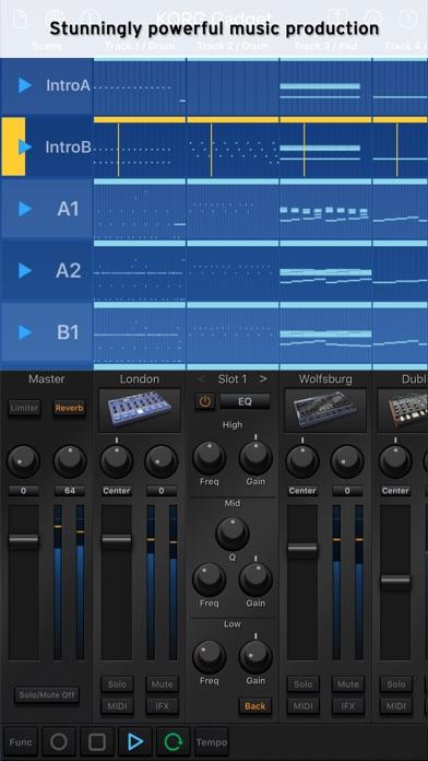 Screenshot #1 pour KORG Gadget