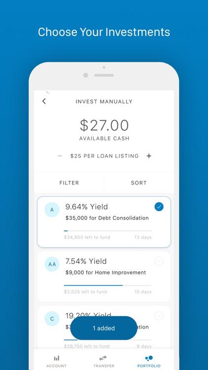 Prosper: Invest screenshot-4