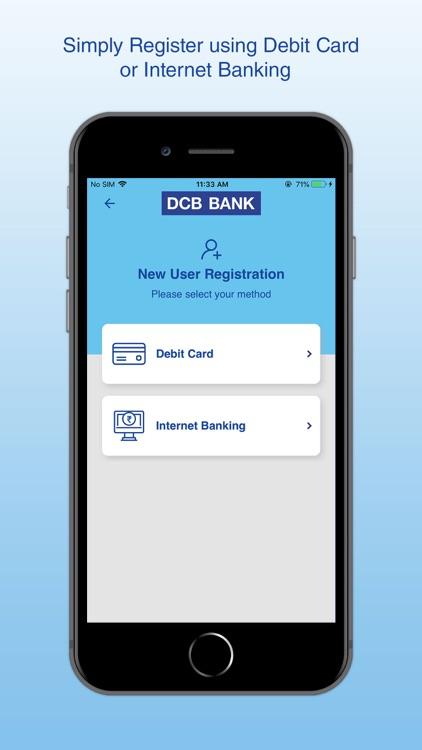 DCB Bank Mobile Banking screenshot-3