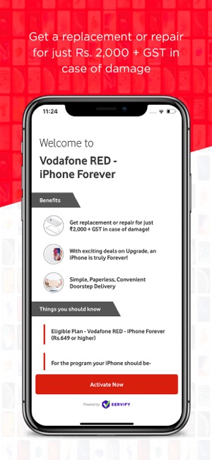 Vodafone iForever on the App Store