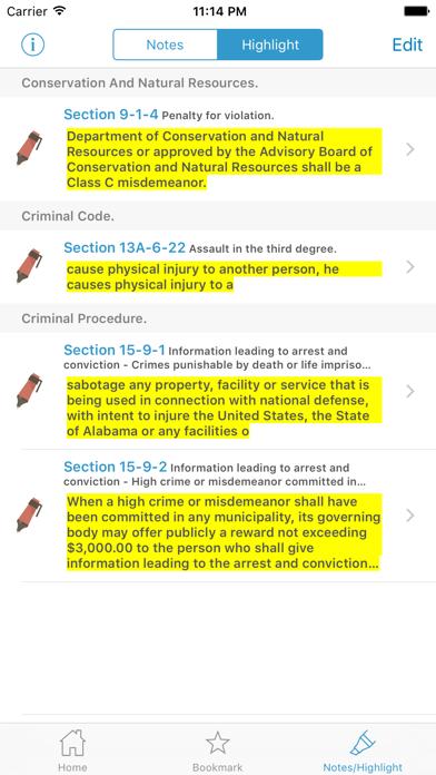 CA Penal Code (California) screenshot four