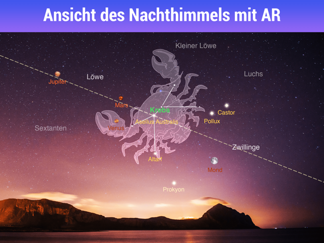 ‎Star Walk HD - Sternenhimmel Screenshot