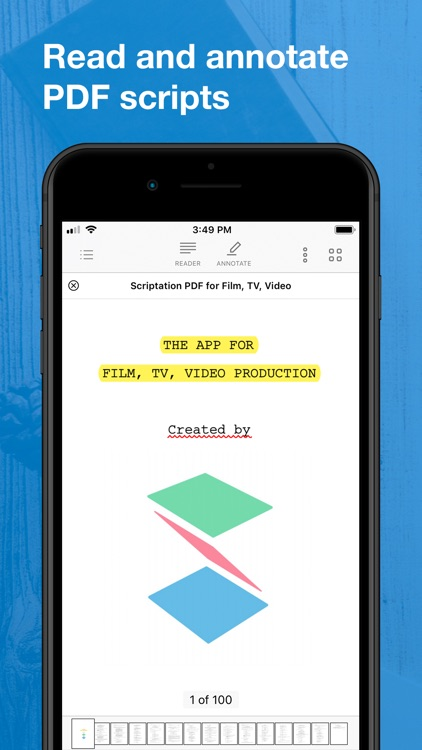 Scriptation PDF for Film & TV screenshot-0
