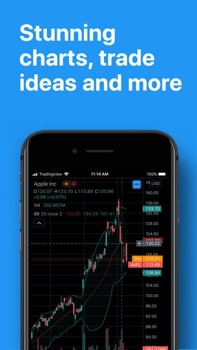 download TradingView - Stocks & Forex for PC image 1
