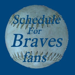 Schedule for Braves fans
