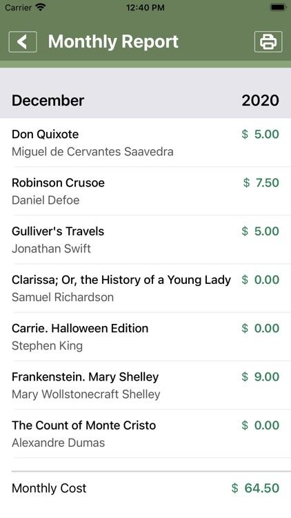 Books Collector screenshot-4